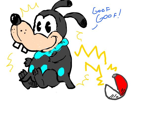 Goofy if he was a Gen 2 Pokemon