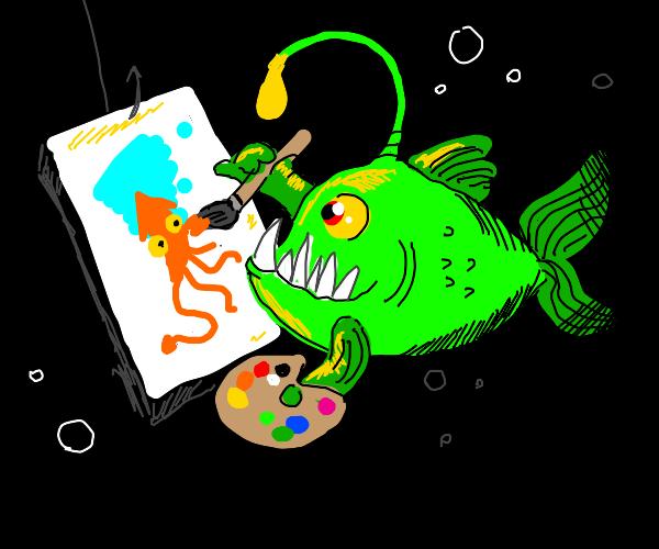 Creative Anglerfish