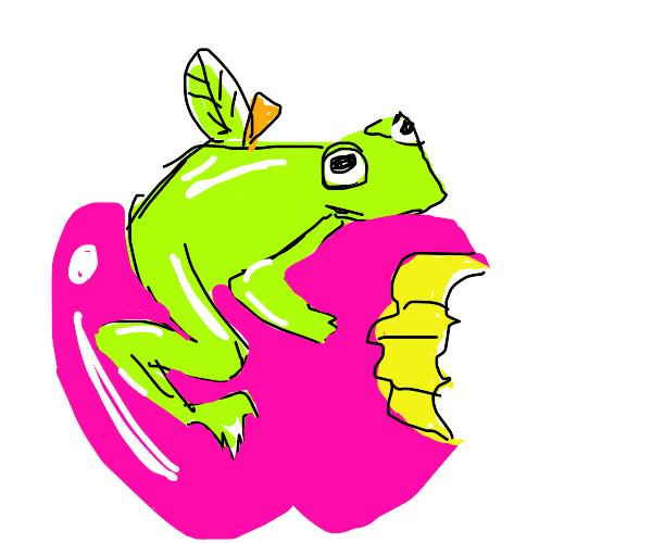 Frogg on apple