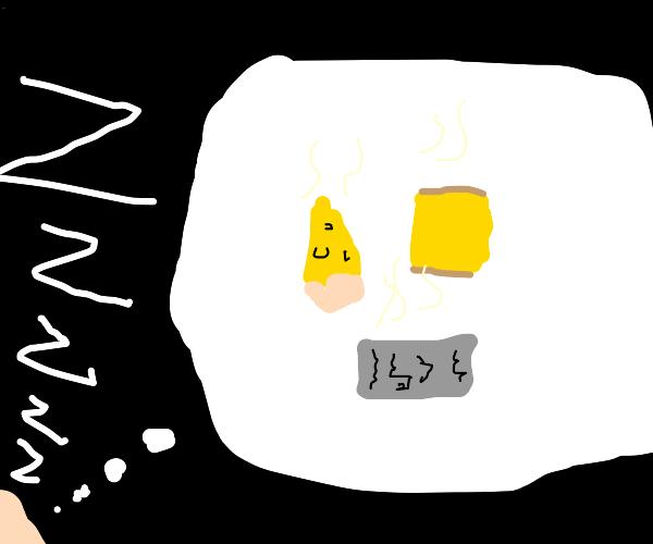 dream of cheese