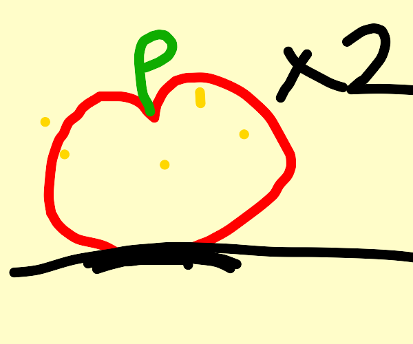 """Two """"Special"""" Apples"""