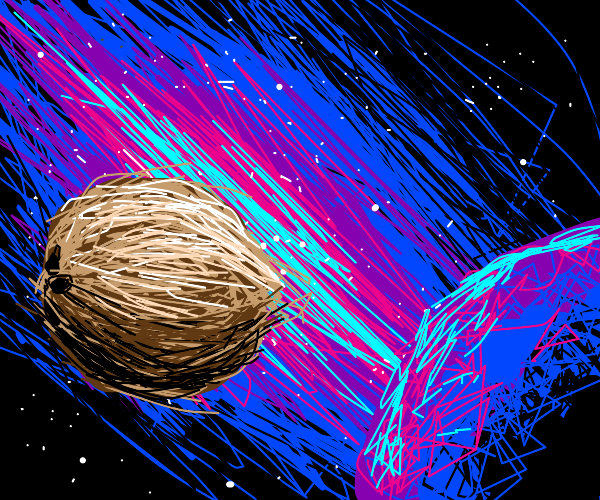 Coconut in space