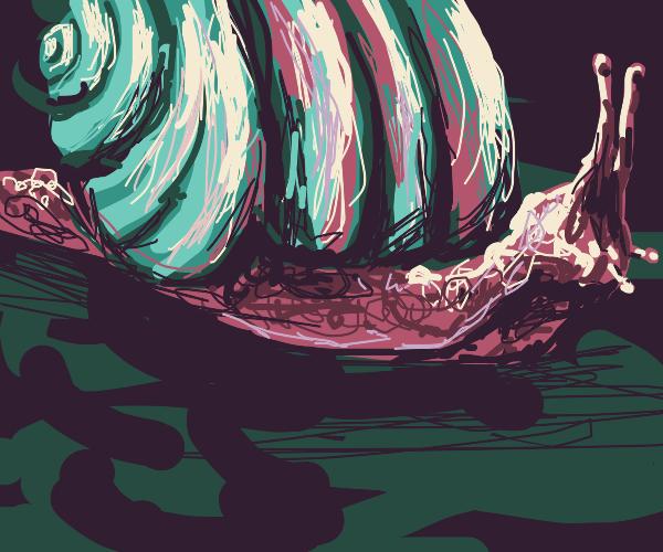 too many snails