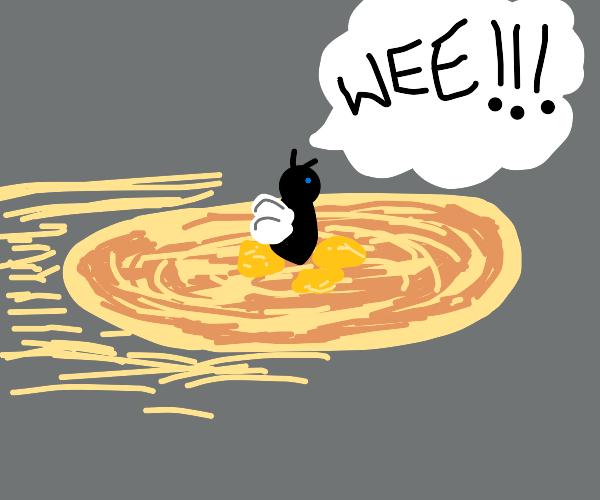 fly rides pancake