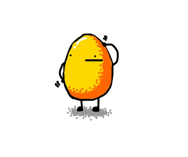 scratchy egg