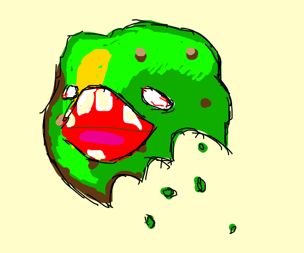 Zombified Cookie