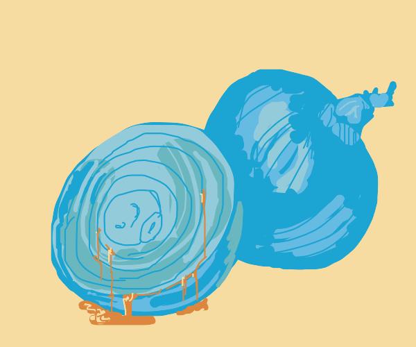 Bleeding onion