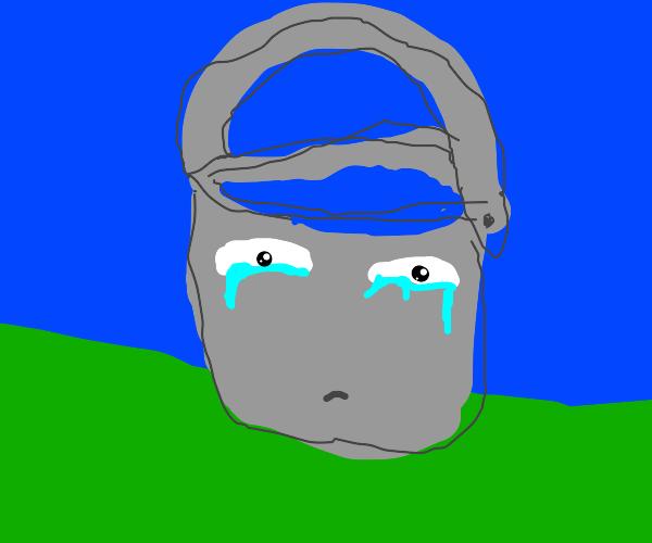 sad bucket