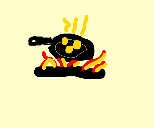 Cooking Yellow Balls