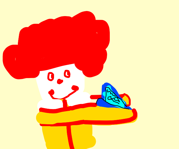 stupid ronald mcdonald learns to read
