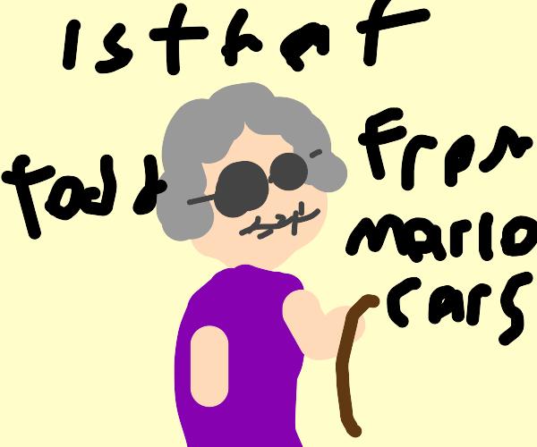 Todd from Mario carts