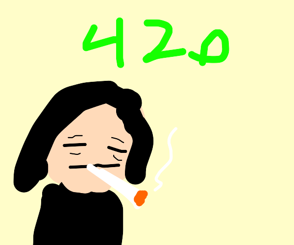 snape smoking weed