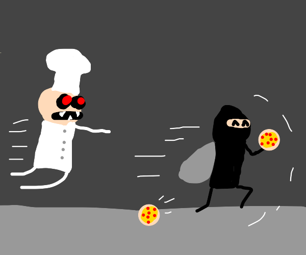 Pizza Thief