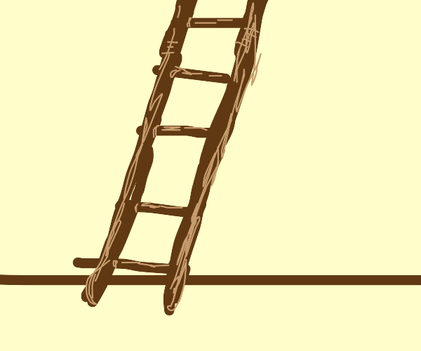 ladder. thats it. nothing to it. dont think