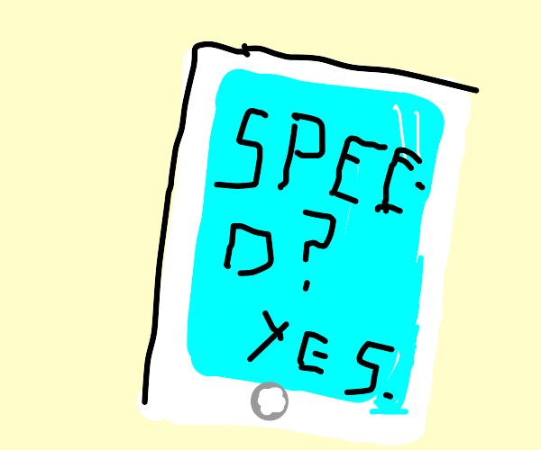 Speedy smart phone