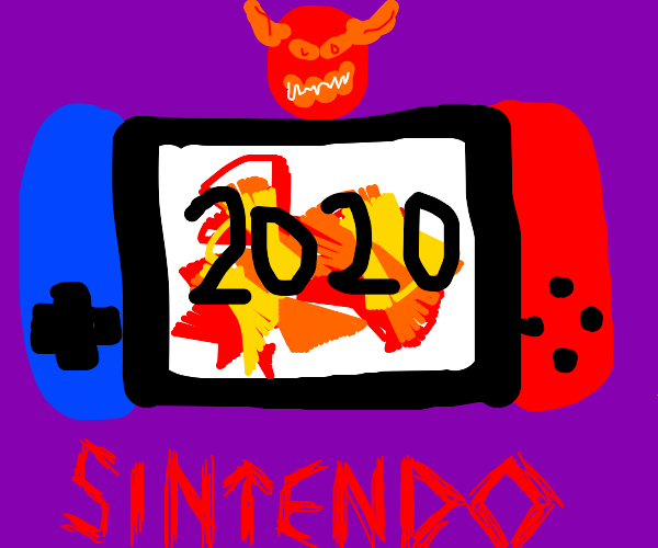 """2020 as a """"Sintendo Switch"""" game"""