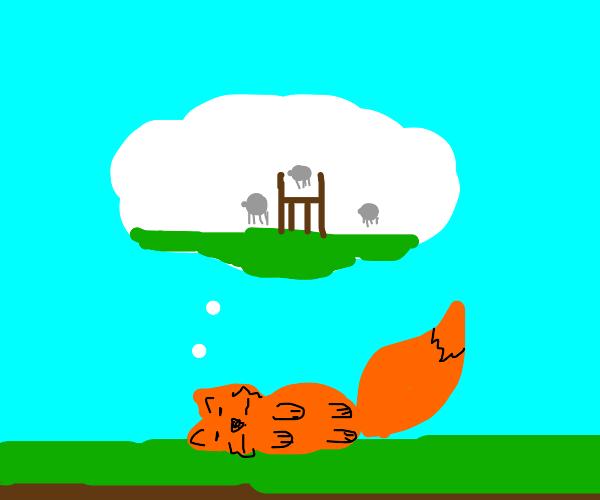 sleeping sonic/fox