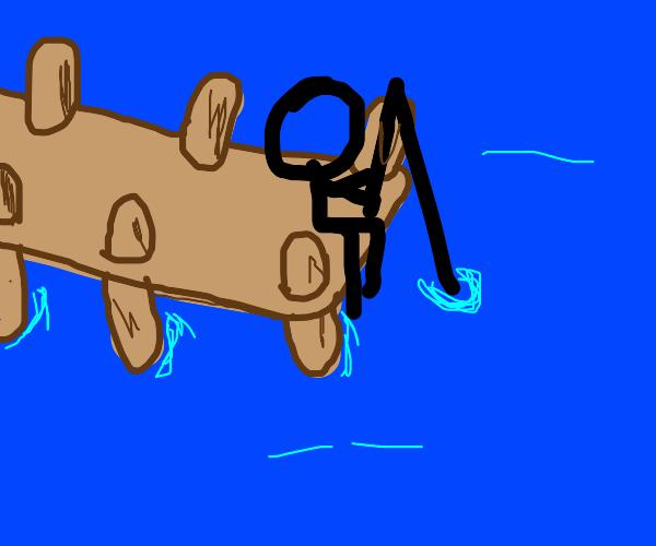 Stickman fishing