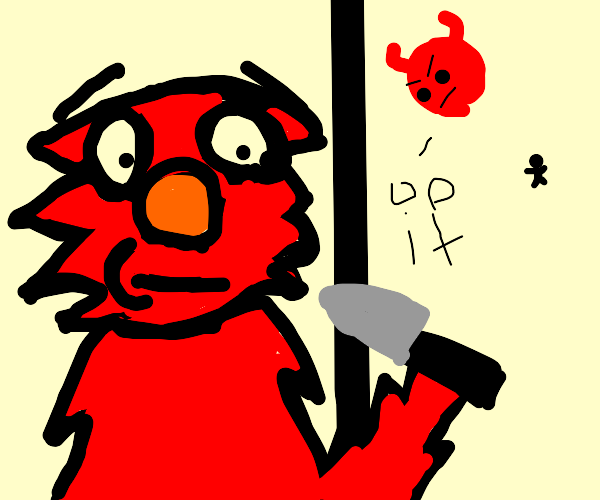 the demons told elmo to do it