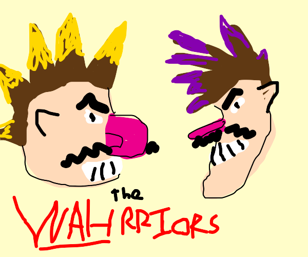 Waluigi and Wario start a punk band.
