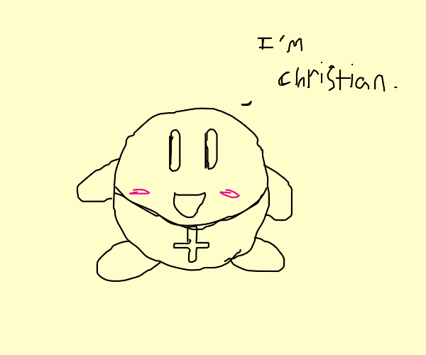 Kirby becomes Christian