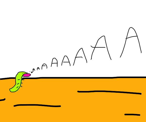 caterpillar screaming