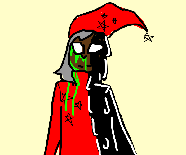 A wizard plagued by doom and gloom