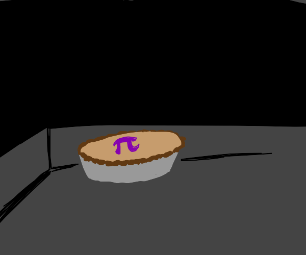 Pi Pie In the Darkness