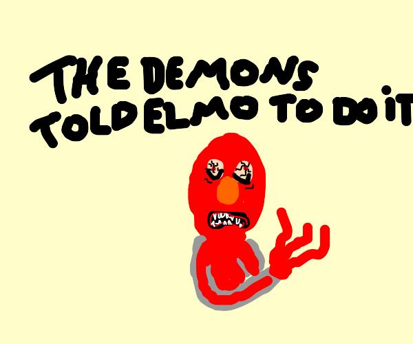 Elmo sleep paralysis demon