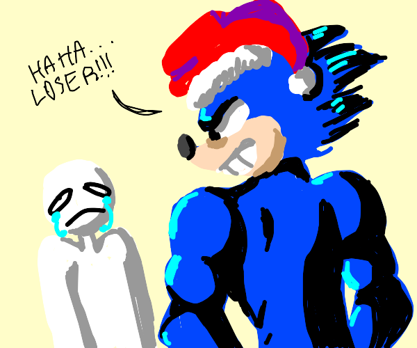 christmas sonic bullies you