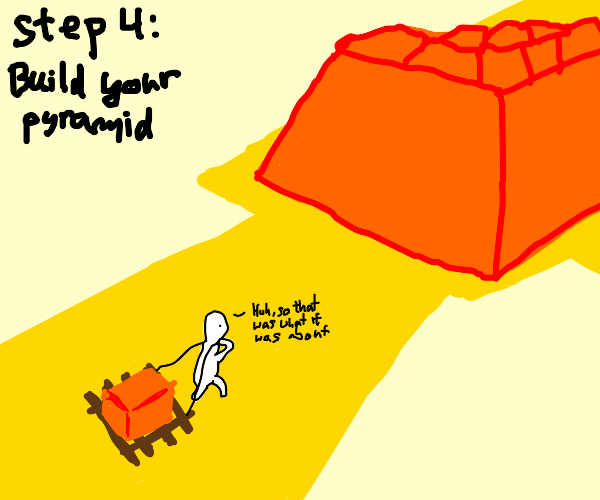Step 3: join a pyramid scheme