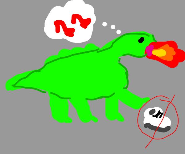 Dragon wants to wear high heels