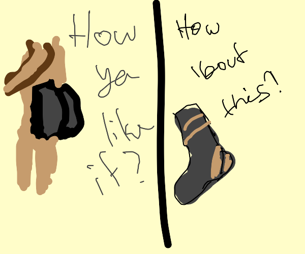 Butt sock