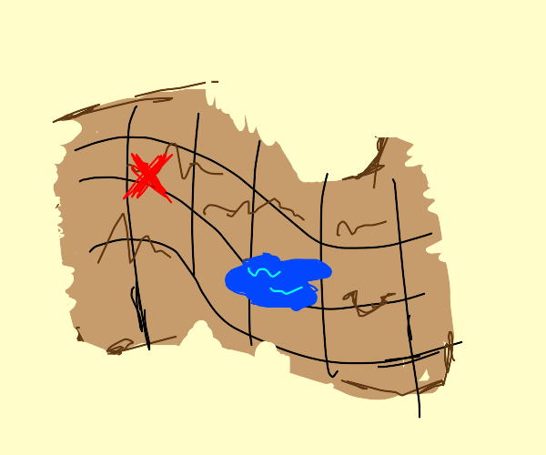 Map to the treasure