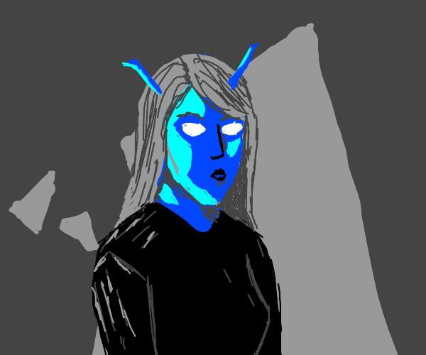 Andorian girl