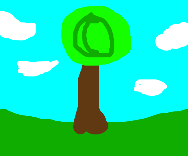 Copyrighted tree