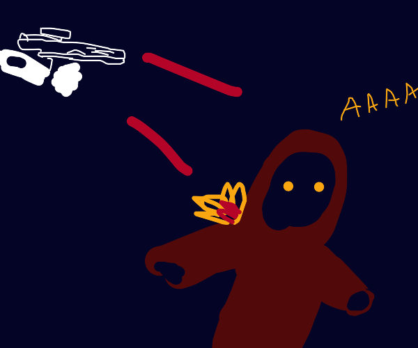 Stormtrooper has aim!