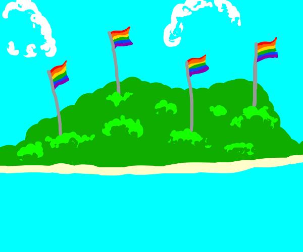 LGTB+ Kingdom of The Coral Sea Islands