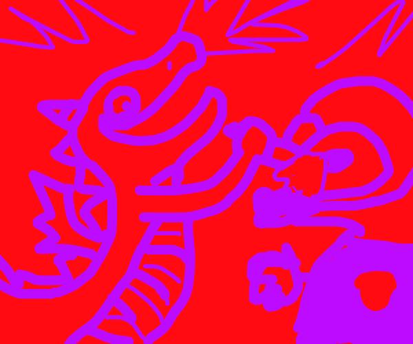 Dragon that's hurting my eyes