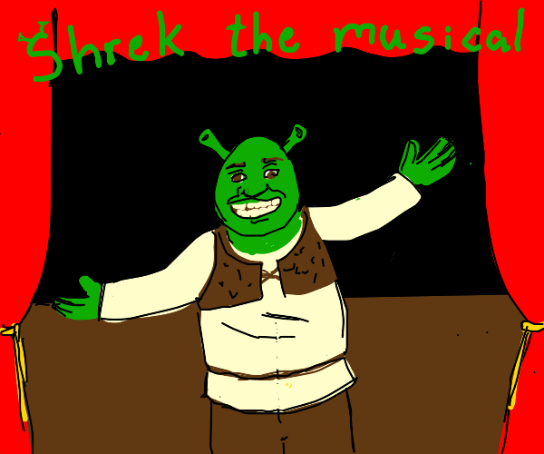 A bad performance of Shrek the musical