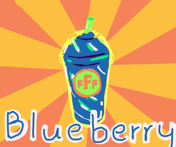 Blueberry slushy From FFF