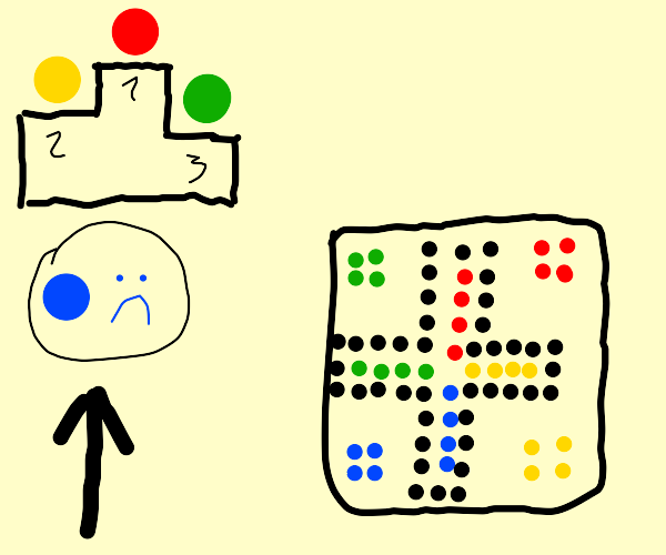 Last Place Board Game