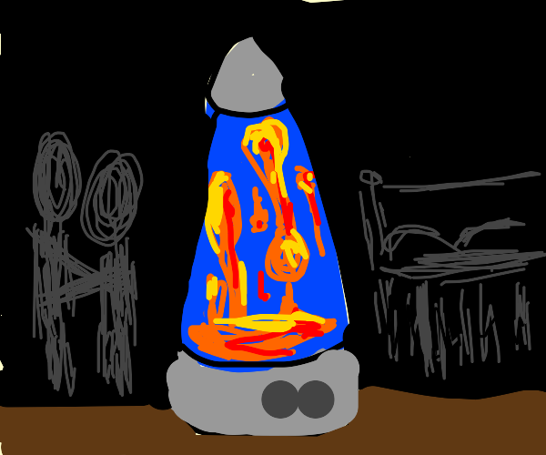 a lava lamp but like...sexy