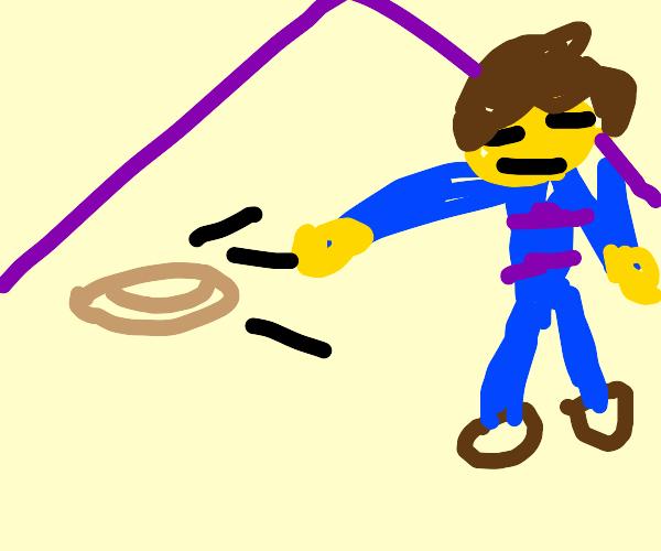 Frisk accidentally throws a burrito