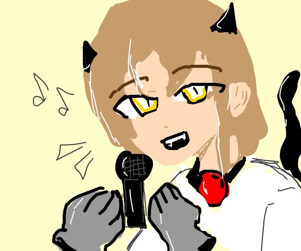 cat-girl singer