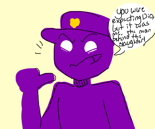 kona dio da on a purple skin man