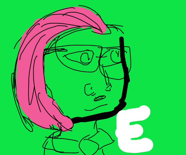 lord farquad E meme but with pink hair