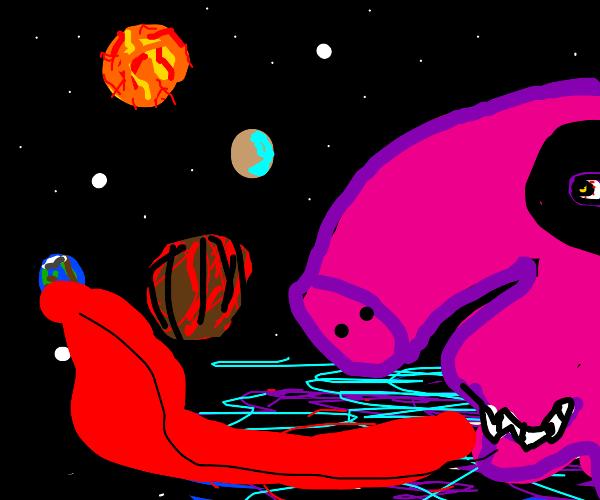 Peppa pig is Saturn