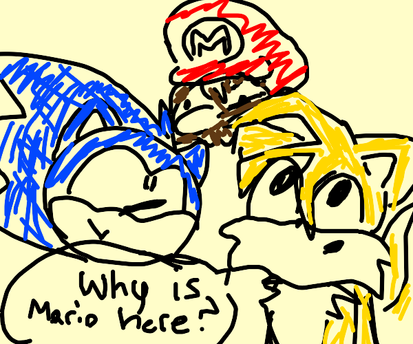 Sonic and Tails with Mario and Sonic (rerun)