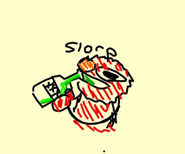 alcoholic elmo